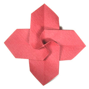 HOW TO MAKE 3D ORIGAMI POINSETTIA | DIY POINSETTIA CHRISTMAS ... | 300x300