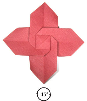 how to make origami christmas flowers