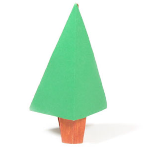 How to make Christmas origami models