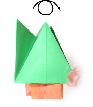 3D Paper (Origami) Christmas Tree | How to Make 3D Paper Xmas Tree ... | 345x300