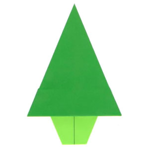 Traditional Origami Christmas Tree