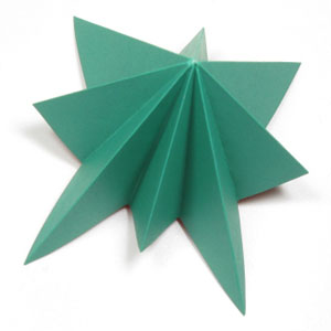 simple origami christmas tree
