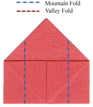 How to make a traditional origami church