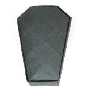 37th picture of origami coffin for halloween