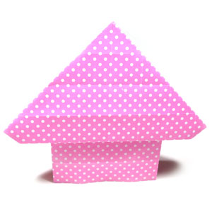 easy origami cottage