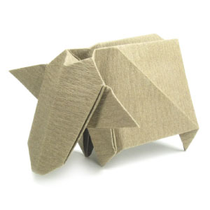 How To Make An Origami Standing Crane