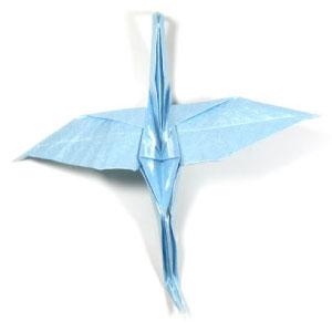 Origami Crane - How to Fold a Traditional Paper Crane | 300x300