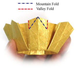 Easy Origami Modular Crown - YouTube | 300x300