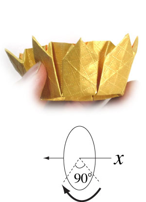 How To Make An Eight Pointed Origami Crown Page 19