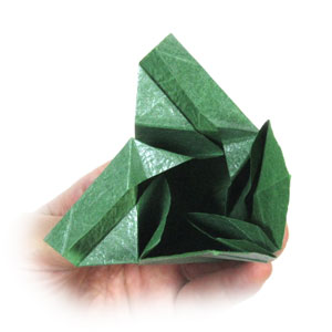 Closed Origami Star Box