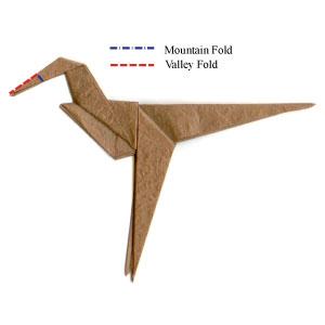 My origami velociraptor. how is it? : JurassicPark | 300x300