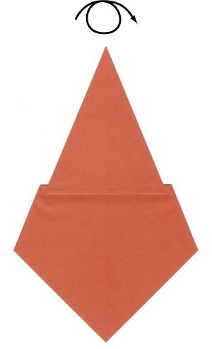 origami sitting cat instructions