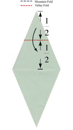how to fold the fish base