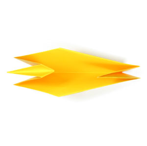 how to make an origami duck for beginners