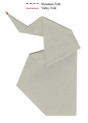 Easy Origami Baby Elephant Easyphant By Enrique Martinez | Origami ... | 416x300