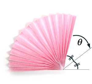14th Picture Of Simple Origami Fan