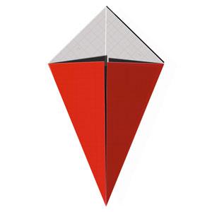 how to make a kite oragami