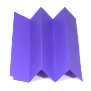 stair fold in origami