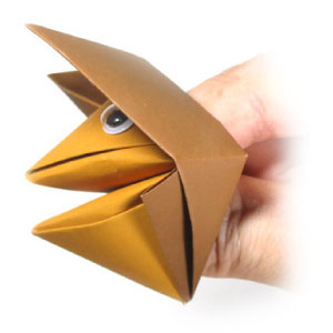 traditional talking origami fox