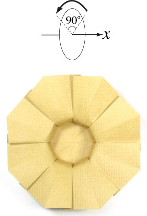 11th Picture Of Origami Sun Hat