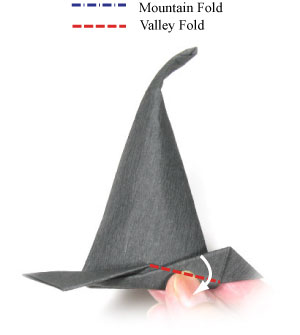 15th Picture Of Origami Witchs Hat