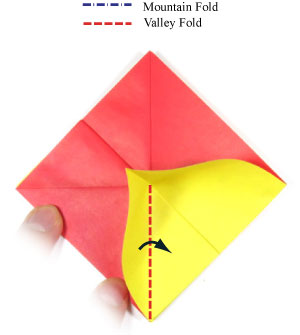 Easy Origami Heart Folding Instructions - How to Make an easy ... | 335x300