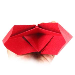 DIY Origami Heart Box / Envelope, Secret Message – Valentine's Day ... | 298x300