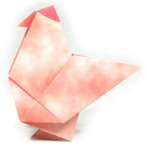 How To Make A Traditional Origami Hen Page 1