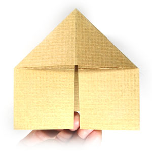 How to Make a Simple Origami House | 300x300