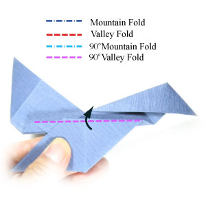 how to make origami jet plane