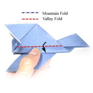 origami jet plane instructions