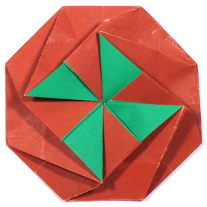 octagon origami letter