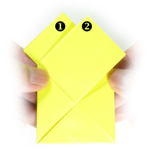 12th Picture Of Traditional Origami Letter