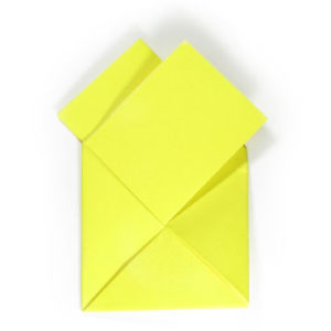 13th Picture Of Traditional Origami Letter