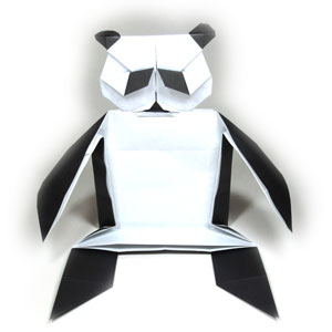 how to make a body of origami panda page 1