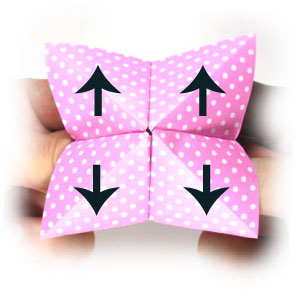 How Make Origami Fortune Tellers Steps Pictures Wikihow Pictures