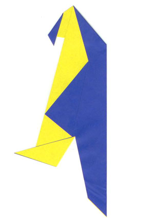 easy origami parrot instructions