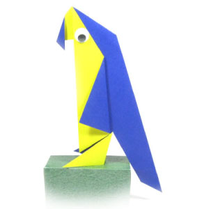 How to Make an Easy Origami Parrot | 300x300