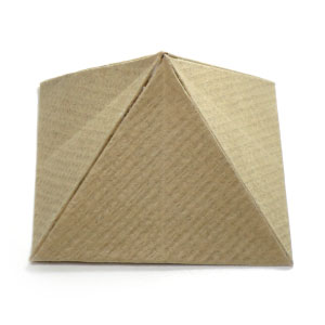 Great Origami Pyramid with base