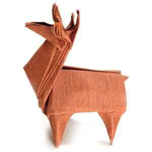How To Make An Origami Reindeer Page 1