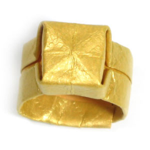 traditional origami ring