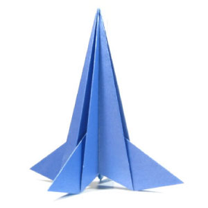 How To Make Origami Rocket