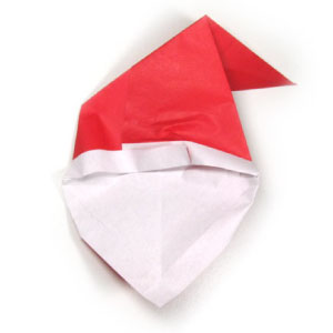 How to make an origami santa claus 39 s face page 8 for Make origami santa claus