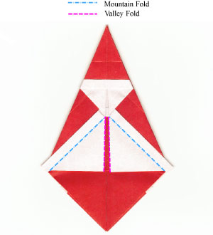 How to make a simple origami santa claus page 10 for Make origami santa claus
