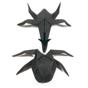 29th Picture Of Traditional Origami Spider
