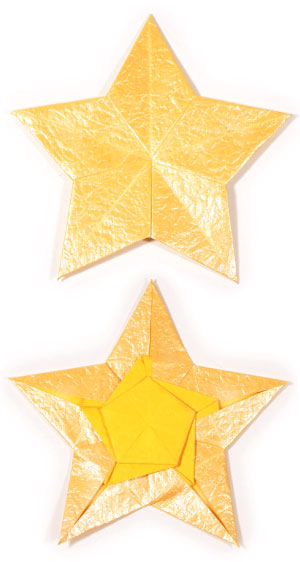 How to make a 3D paper star | Easy origami stars for beginners ... | 562x300