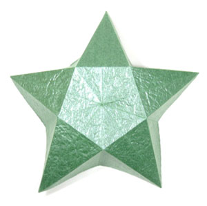 3rd Picture Of Five Pointed Lovely Origami Star Box