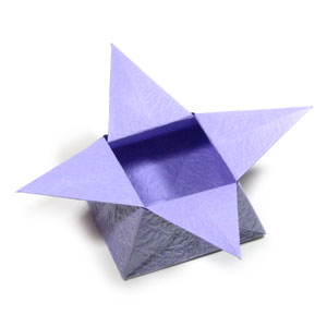 how to make a traditional origami star box page 1