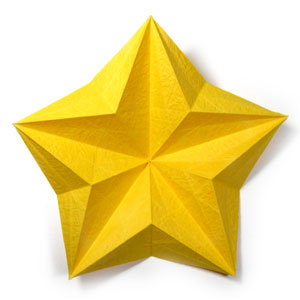 origami 5 pointed star instructions