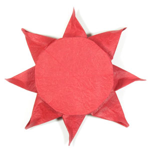 How To Make An Origami Sun Page 1